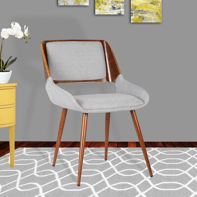 Thelonius Side Chair Upholstery: Gray Fabric