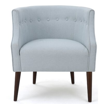 Lilian Barrel Chair Upholstery: Light Sky