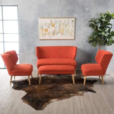 Zariah 4 Piece Living Room Sofa Set