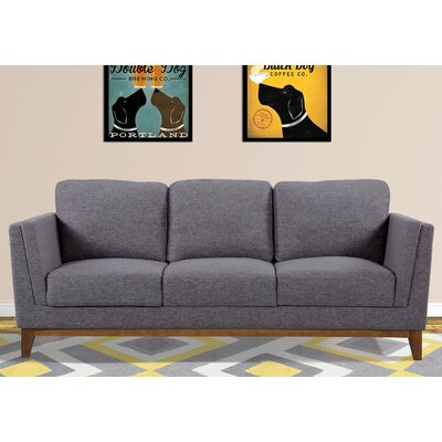 Artifore Modern Sofa Upholstery: Dark Gray