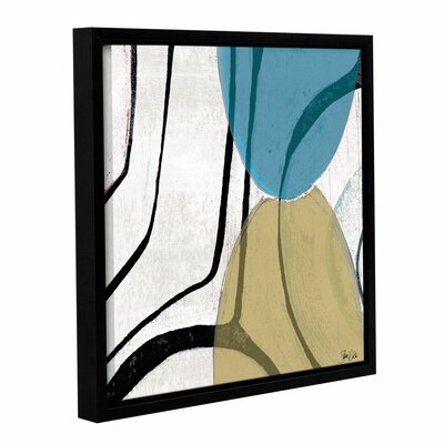 Abstract V Framed Painting Print