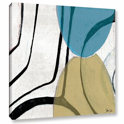 Abstract V Painting Print on Wrapped Canvas