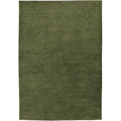 Poppy Hand-Knotted Bay Leaf Area Rug Rug Size: Rectangle 410 x 710