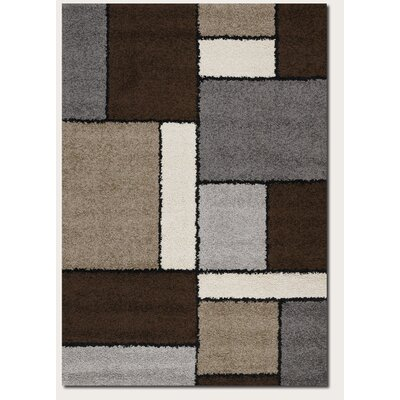 Langley Street Loretta Chocolate/Gray Area Rug
