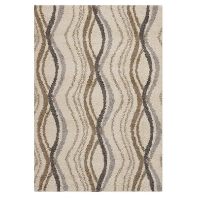 Hinkel Cream Area Rug Rug Size: Rectangle 92 x 125