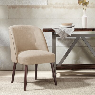Aliso Parsons Chair Upholstery: Natural