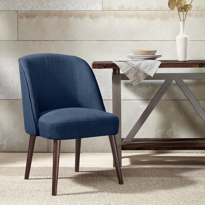 Aliso Parsons Chair Upholstery: Blue