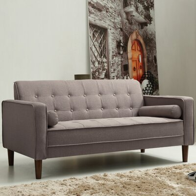 Isaac Sofa Finish: Gray