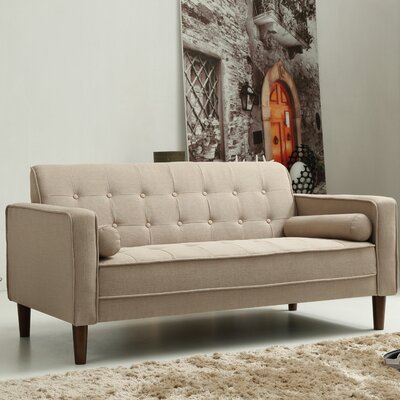 Isaac Sofa Finish: Beige