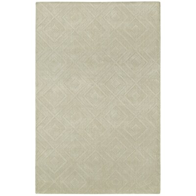 Clarkstown Hand-Loomed Sand Area Rug Rug Size: Rectangle 2 x 4