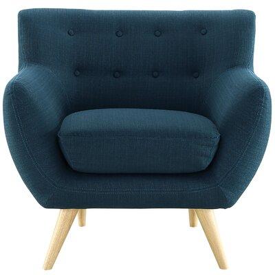 Meggie Armchair Upholstery: Azure