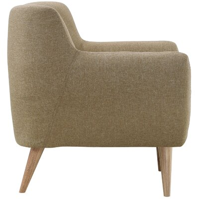 Meggie Armchair Upholstery: Brown