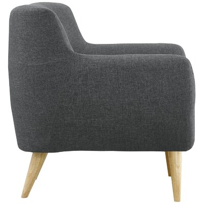 Meggie Armchair Upholstery: Gray