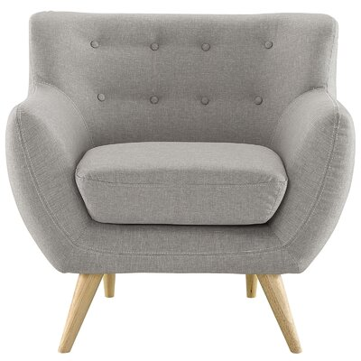 Meggie Armchair Upholstery: Light Gray