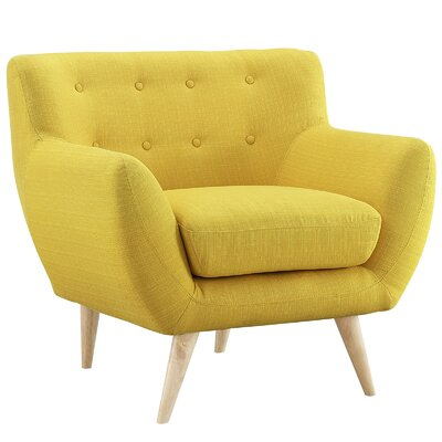 Maisie Arm Chair Upholstery: Sunny