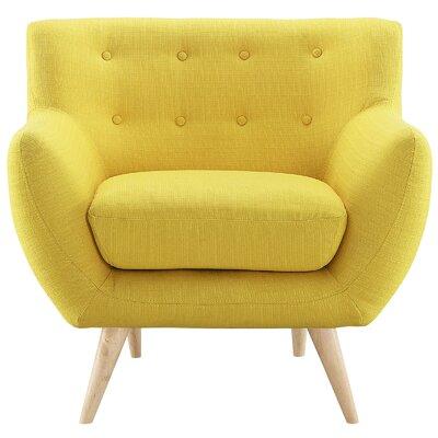 Meggie Armchair Upholstery: Sunny