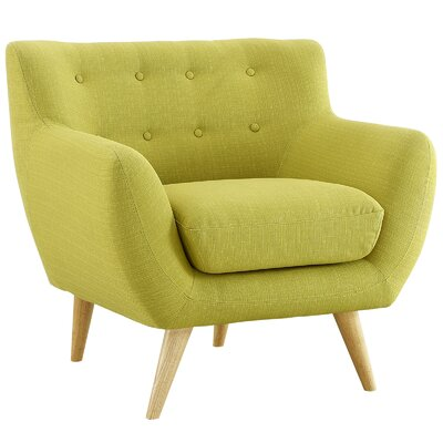 Maisie Arm Chair Color: Wheatgrass