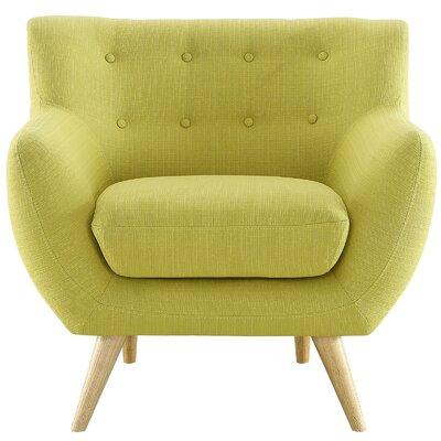 Meggie Armchair Upholstery: Wheatgrass
