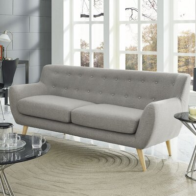 Meggie Sofa Upholstery: Light Grey