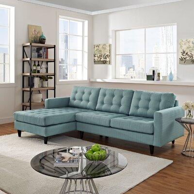 Warren Sectional Upholstery: Laguna