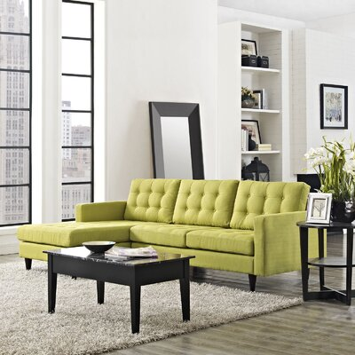Warren Sectional Upholstery: Wheatgrass