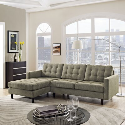 Warren Sectional Upholstery: Oatmeal