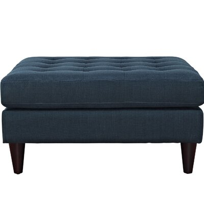 Warren Ottoman Color: Azure