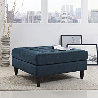 Warren Cocktail Ottoman Upholstery: Azure