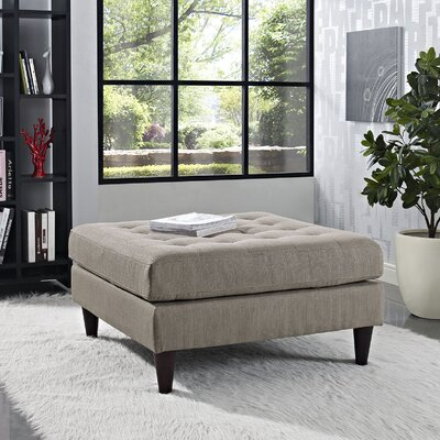 Warren Ottoman Upholstery: Granite