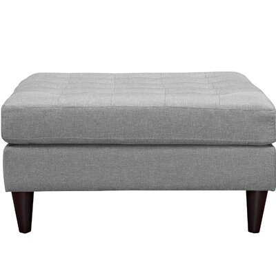 Warren Ottoman Color: Light Gray