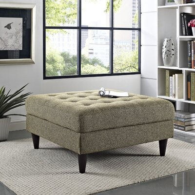 Warren Cocktail Ottoman Upholstery: Oatmeal