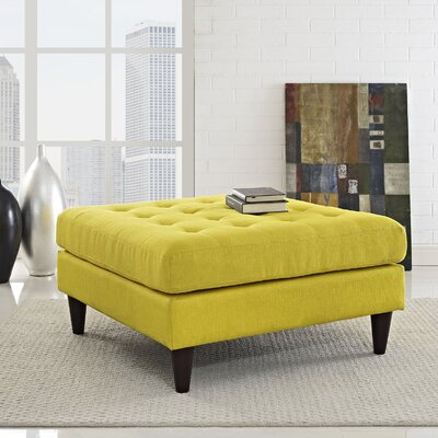 Warren Cocktail Ottoman Upholstery: Sunny