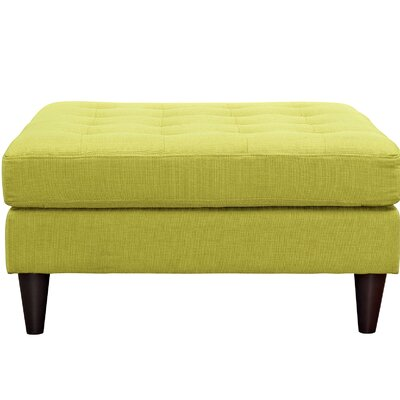Warren Ottoman Color: Wheatgrass