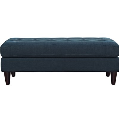 Warren Bedroom Bench Color: Azure, Size: 17.5