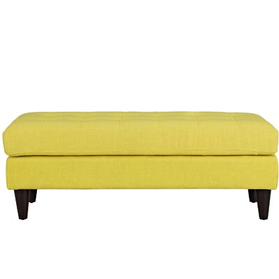 Warren Bedroom Bench Color: Sunny, Size: 17.5