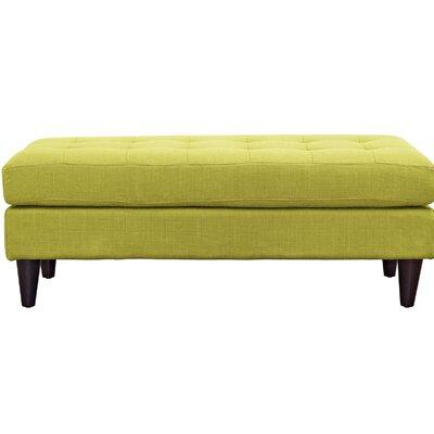 Warren Bedroom Bench Color: Wheatgrass, Size: 17.5