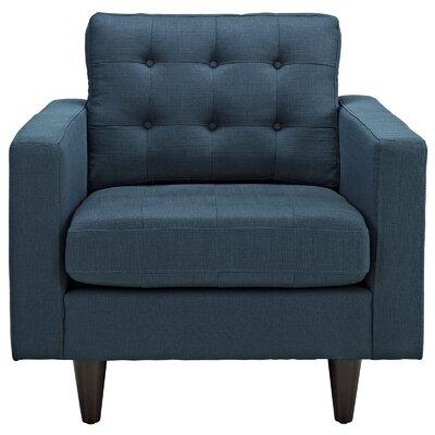 Warren Armchair Upholstery: Azure