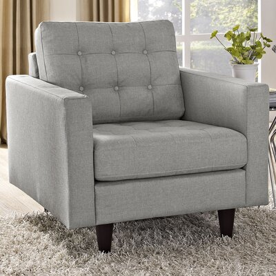 Warren Armchair Upholstery: Light Grey