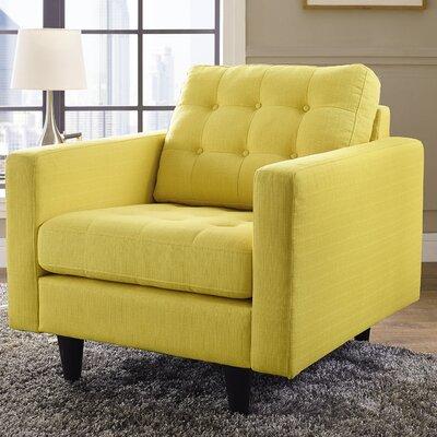 Warren Armchair Upholstery: Sunny