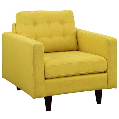 Warren Arm Chair Color: Sunny