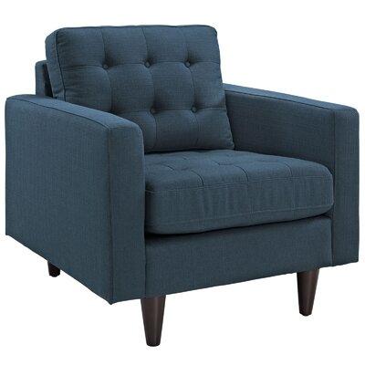 Warren Arm Chair Upholstery: Azure