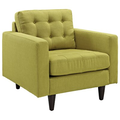Warren Arm Chair Color: Wheatgrass