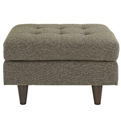 Warren Upholstered Ottoman Upholstery: Oat