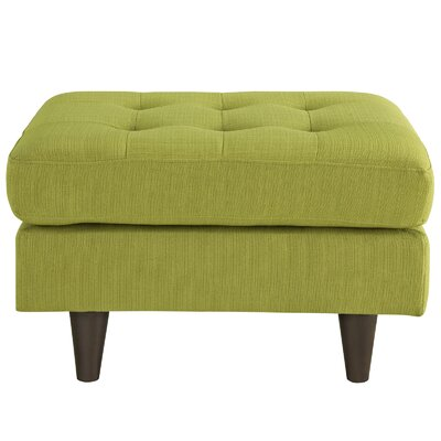 Warren Upholstered Ottoman Upholstery: Wheat