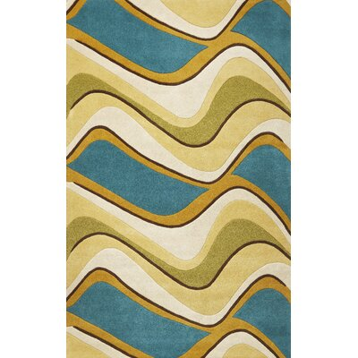 Cheston Waves Area Rug Rug Size: 2'3