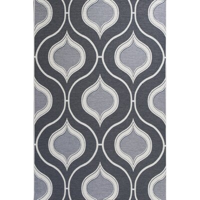 Patel Slate Indoor/Outdoor Area Rug Rug Size: Round 69