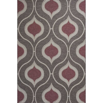 Patel Mocha Indoor/Outdoor Area Rug Rug Size: 34 x 411