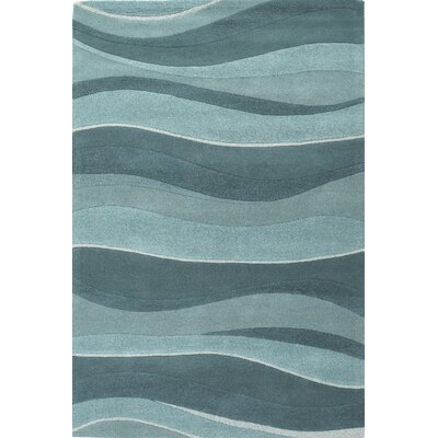Cheston Ocean Area Rug Rug Size: 3'3