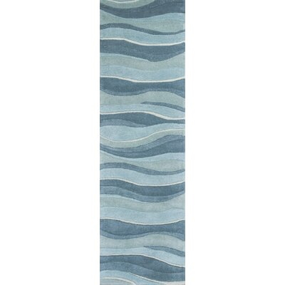Cheston Ocean Area Rug Rug Size: Runner 23 x 76