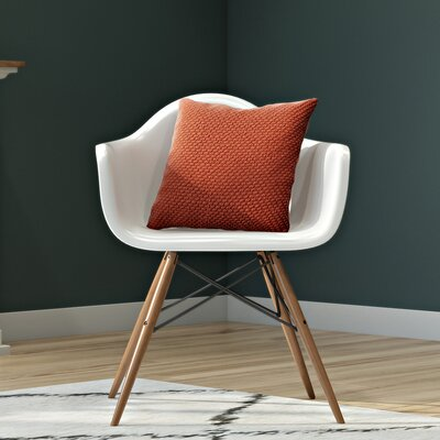 Whiteabbey Molded Arm Chair Color: White